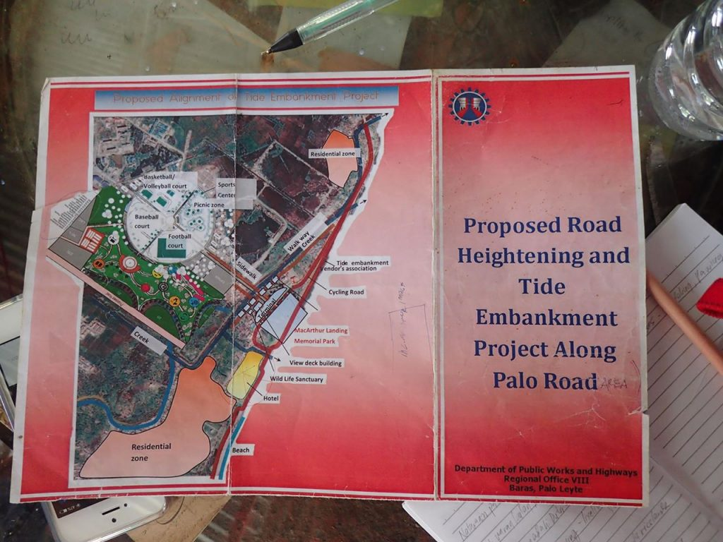Proposed Alignment of Tide Embankment Project