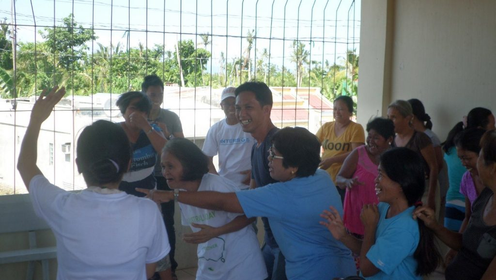 Barangay councilors and CWA during a structured learning exercise.
