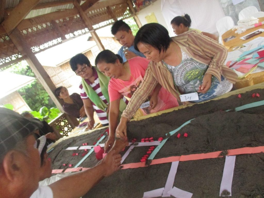 CWA members actively contributing in completing the 3D map of Barangay Cabuynan.